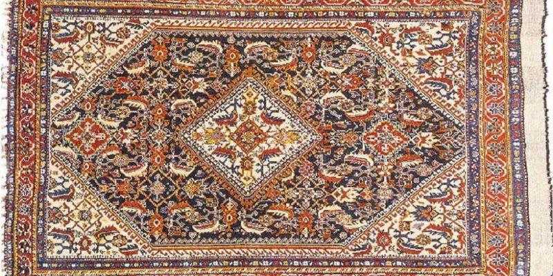 ساختار فرش همدان