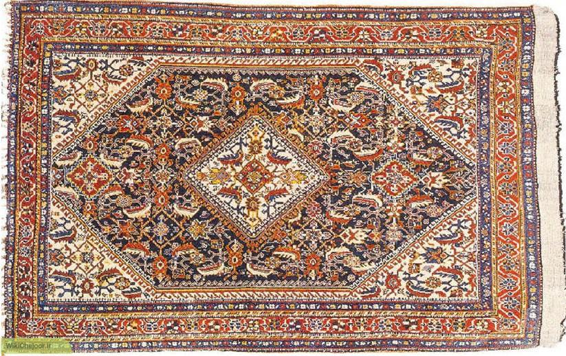 Structure Carpet Hamedan