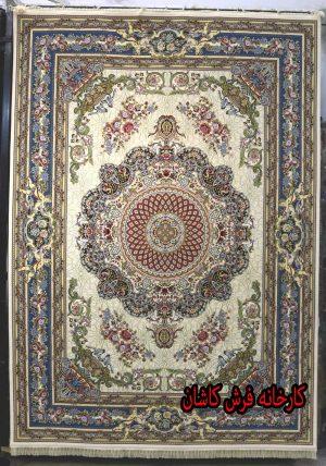 فرش کاشان – ۱۲۰۰ شانه برجسته طرح فرشته کرم