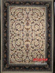 فرش کاشان – ۱۲۰۰ شانه طرح افشان نگار