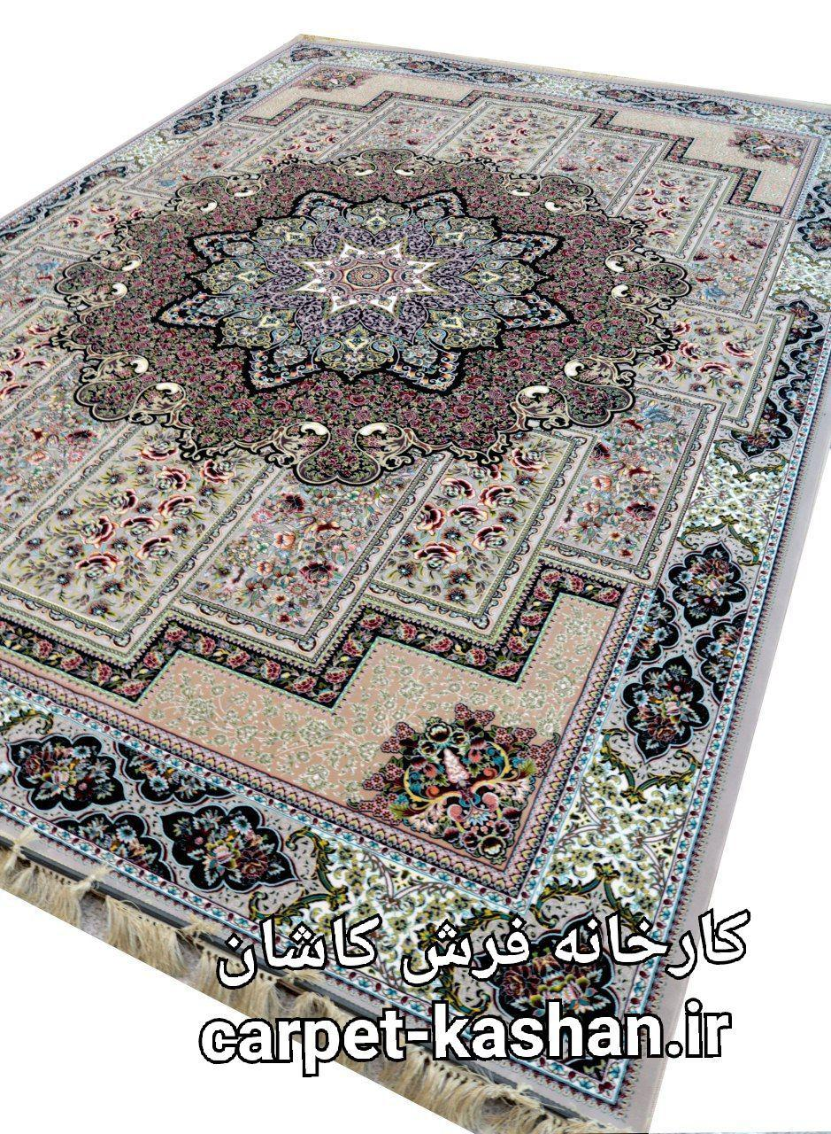 فرش کاشان – ۱۲۰۰ شانه مدل تابان فیلی