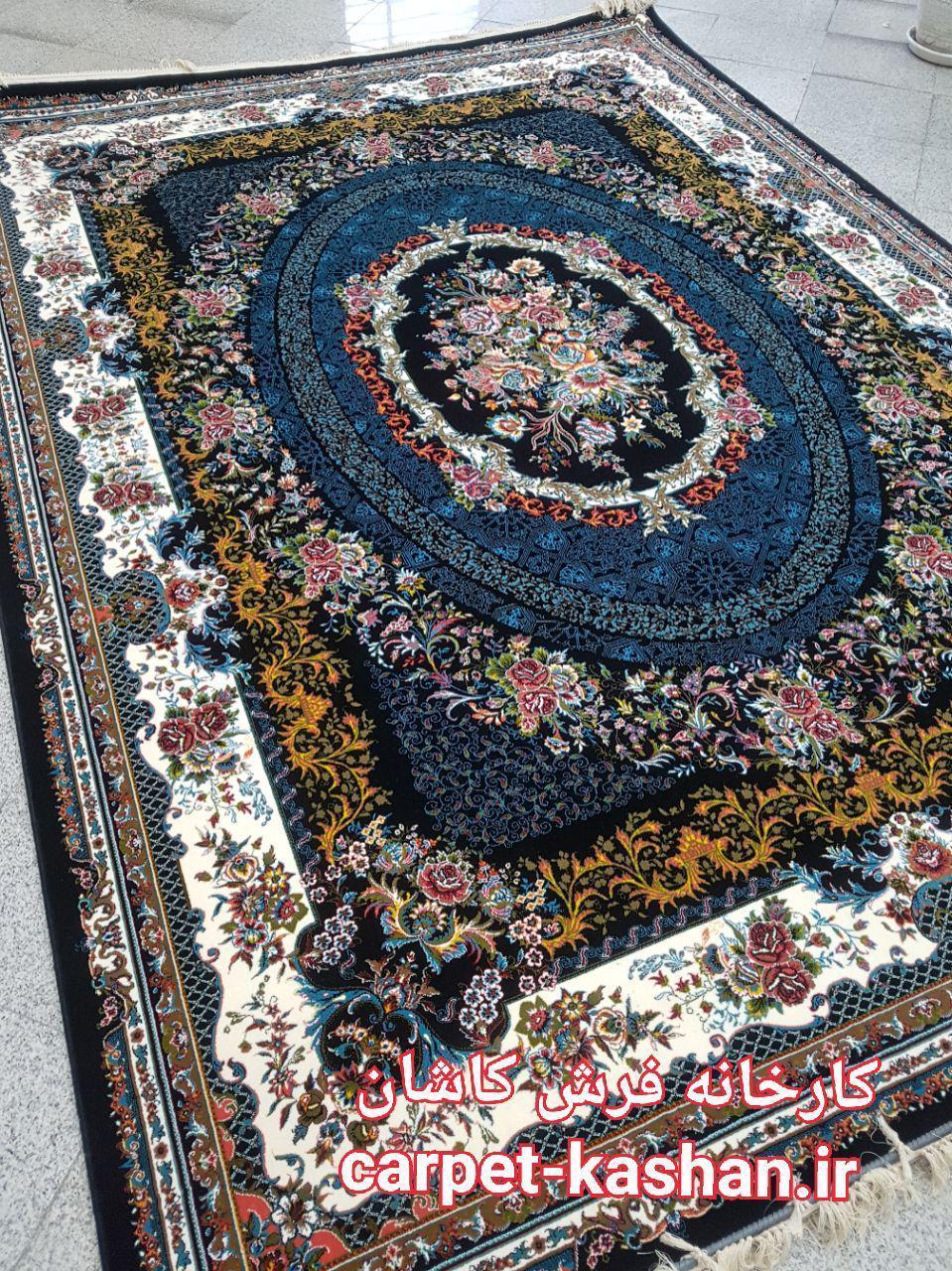 فرش کاشان – 700 شانه نقشه ماتیاس