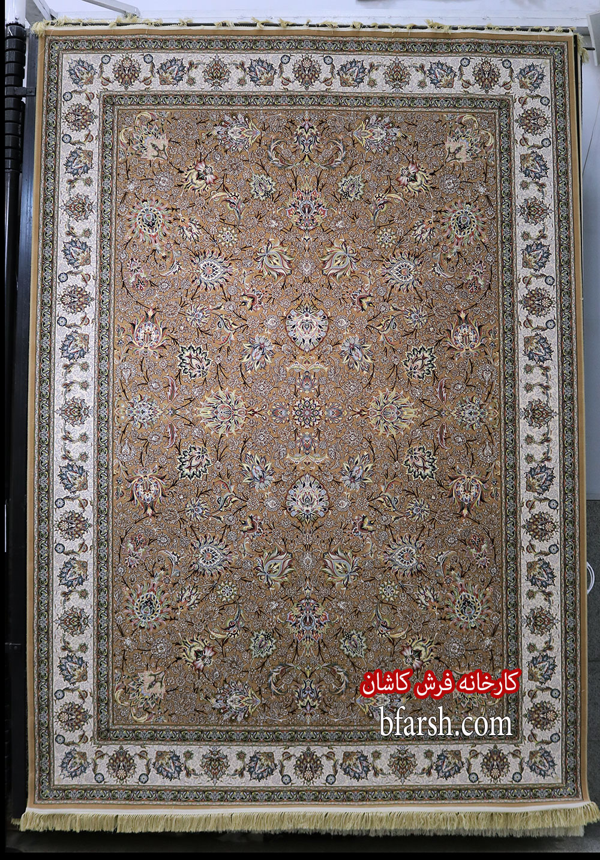 فرش کاشان – ۱۲۰۰ شانه برجسته طرح مشاهیر نسکافه ای