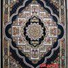فرش کاشان – ۷۰۰ شانه نقشه ناردون سرمه ای