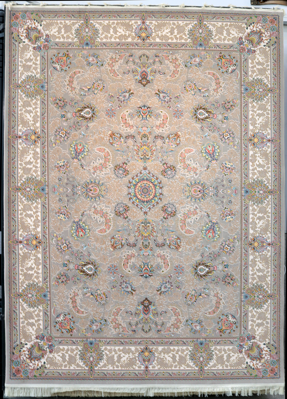 فرش کاشان – 1200 شانه مدل افشان سلطنتی
