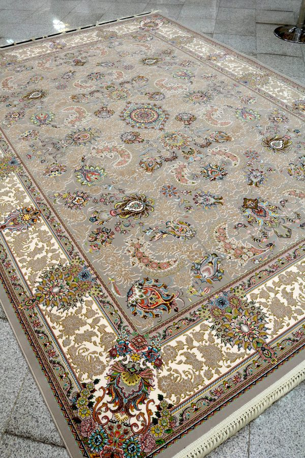 فرش کاشان - 1200 شانه مدل افشان سلطنتی