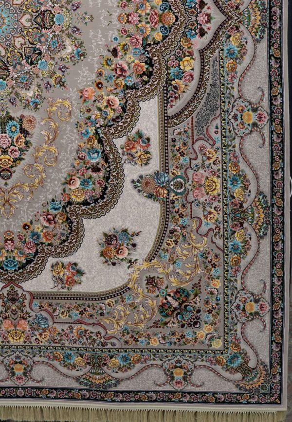 فرش-کاشان-مدل-بهشت-ترمه-ای