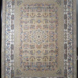 فرش کاشان – ۱۲۰۰ شانه برجسته خاتون