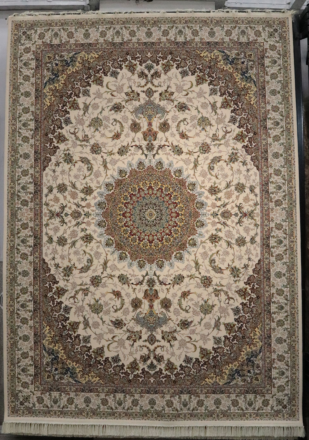 فرش کاشان – 1200 شانه برجسته اصفهان لایت