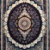 فرش کاشان- نقشه زیگورات ۱۲۰۰ شانه