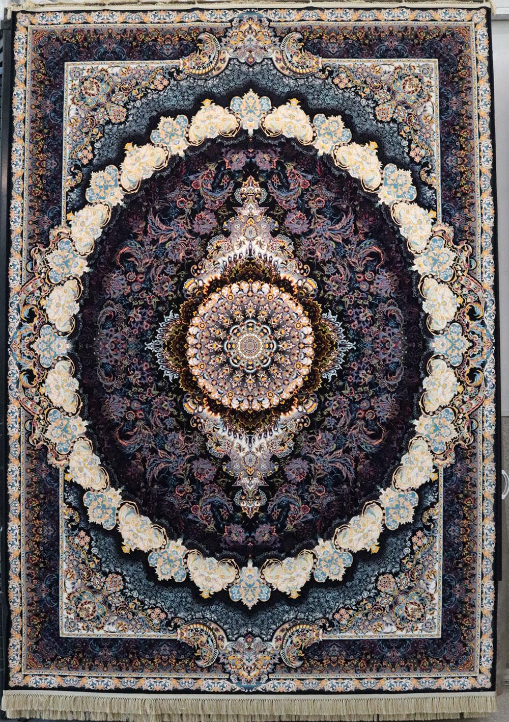 فرش کاشان- نقشه زیگورات 1200 شانه