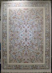 فرش کاشان – ۷۰۰ شانه نقشه افشان برجسته رز