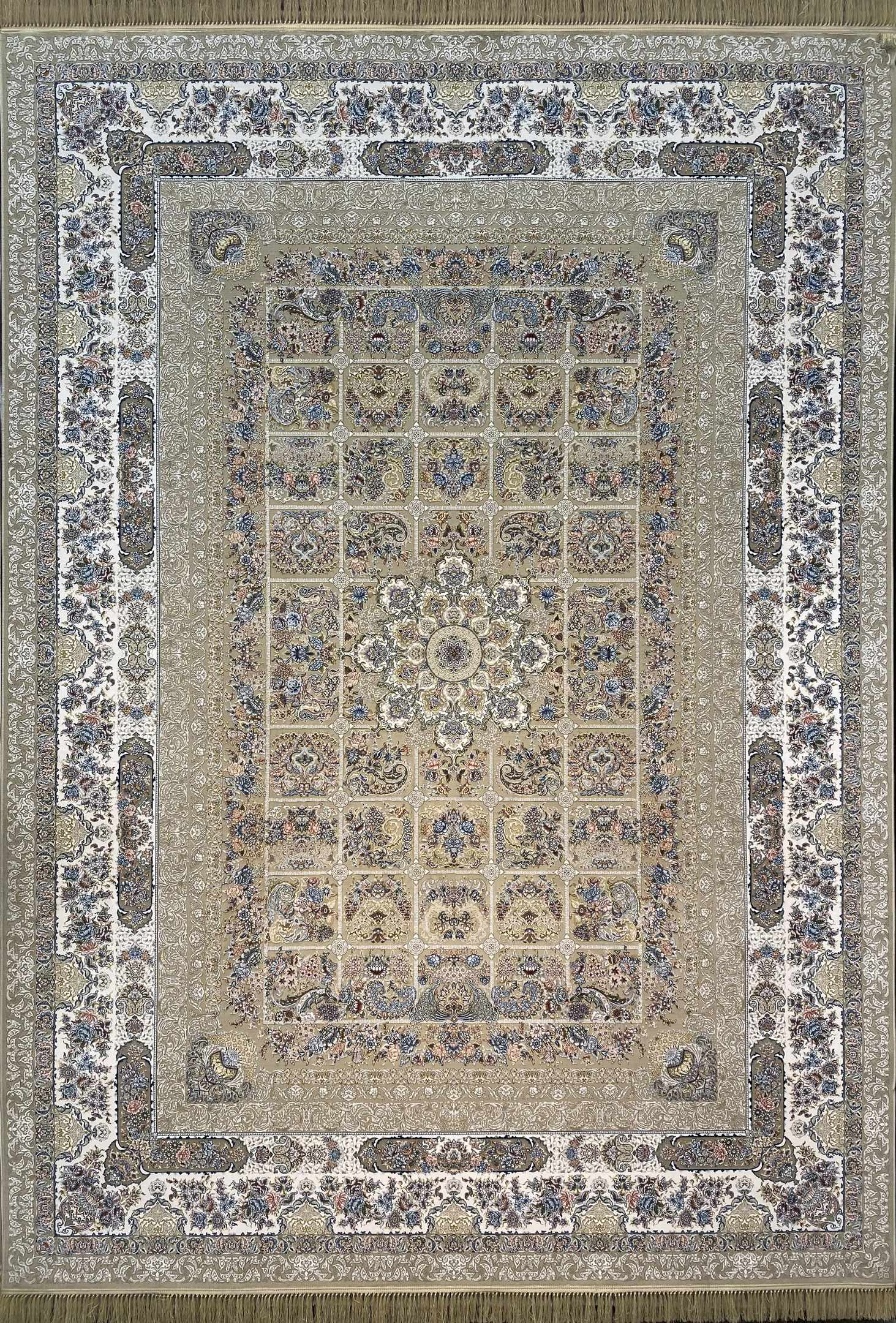 فرش کاشان – 1200 شانه برجسته خاتون