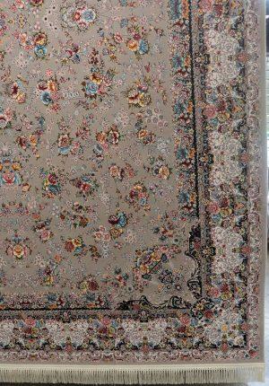 فرش کاشان ۱۲۰۰ شانه باغ گل