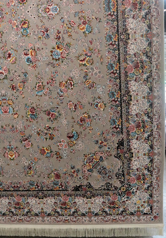 فرش-کاشان-1200-شانه-باغ-گل