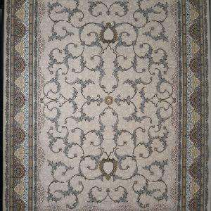 فرش  ۱۲۰۰ شانه برجسته نقشه افشان اسلیمی