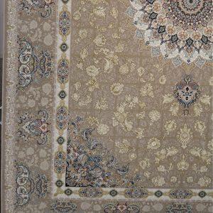 فرش نقشه پیچک برجسته
