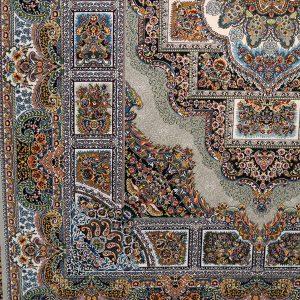فرش حوض نقره ۷۰۰ شانه رنگ فیلی