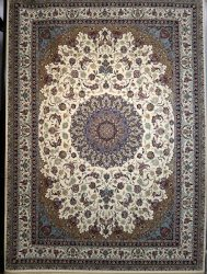 فرش کاشان- نقشه شیخ صفی کرم