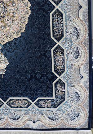 فرش ۱۲۰۰ شانه هالیدی سرمه ای
