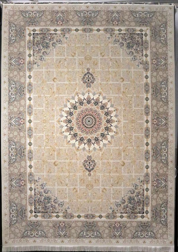 فرش-1200-شانه-پیچک-کرم