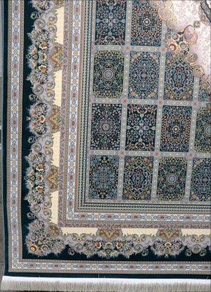 فرش ۱۲۰۰ شانه کاشان نقشه باران