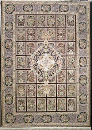 فرش کاشان- نقشه شاه نشین ۱۲۰۰ شانه