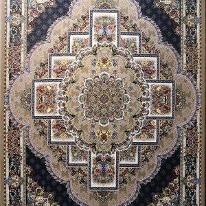 فرش کاشان – ۷۰۰ شانه نقشه  ناردون نسکافه ای