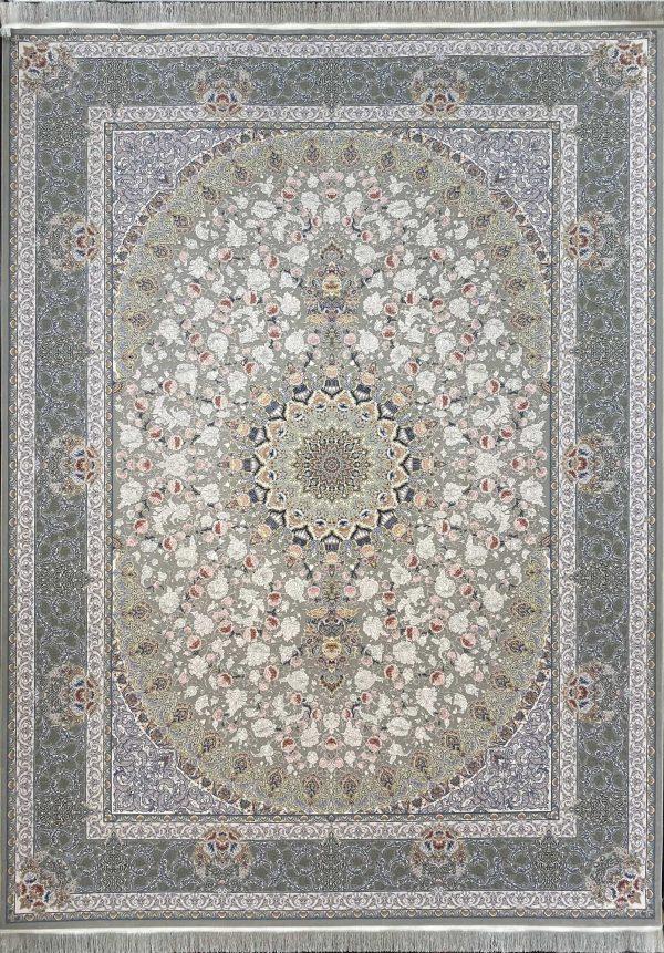 فرش کاشان مدل یکتا طوسی