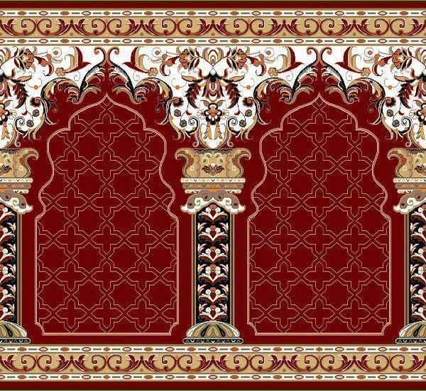 فرش سجاده ای ستون قرمز