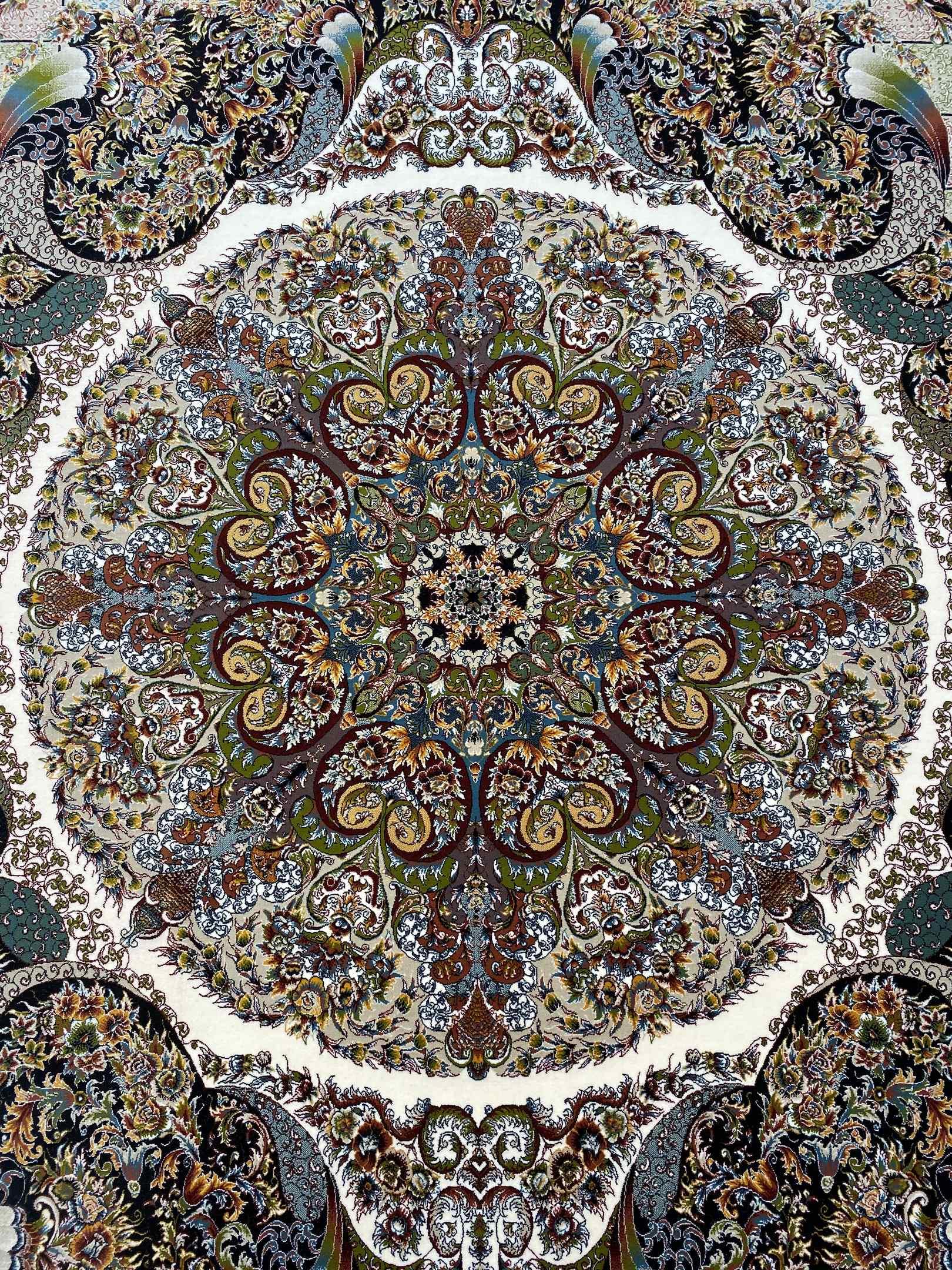 فرش حریر 1000 شانه