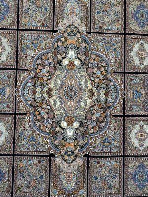 فرش کاشان طرح کژال 700 شانه
