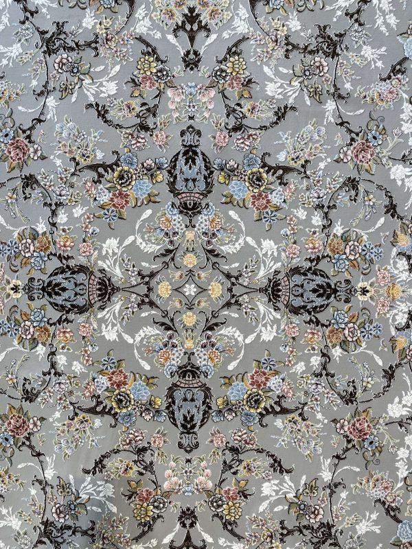 فرش روژان 1500 شانه نقره ای