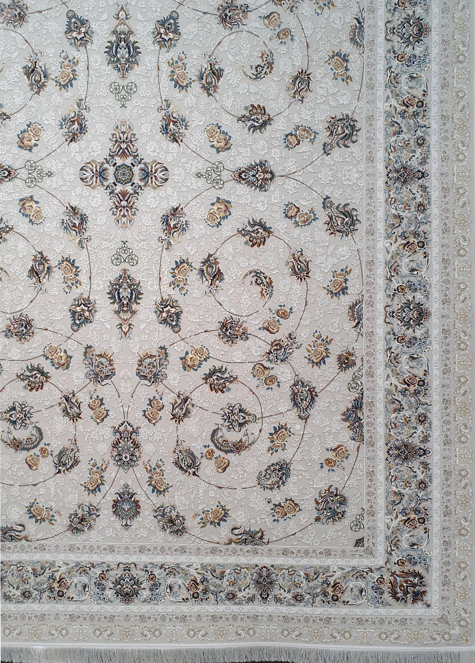 فرش گلسرخ گلبرجسته