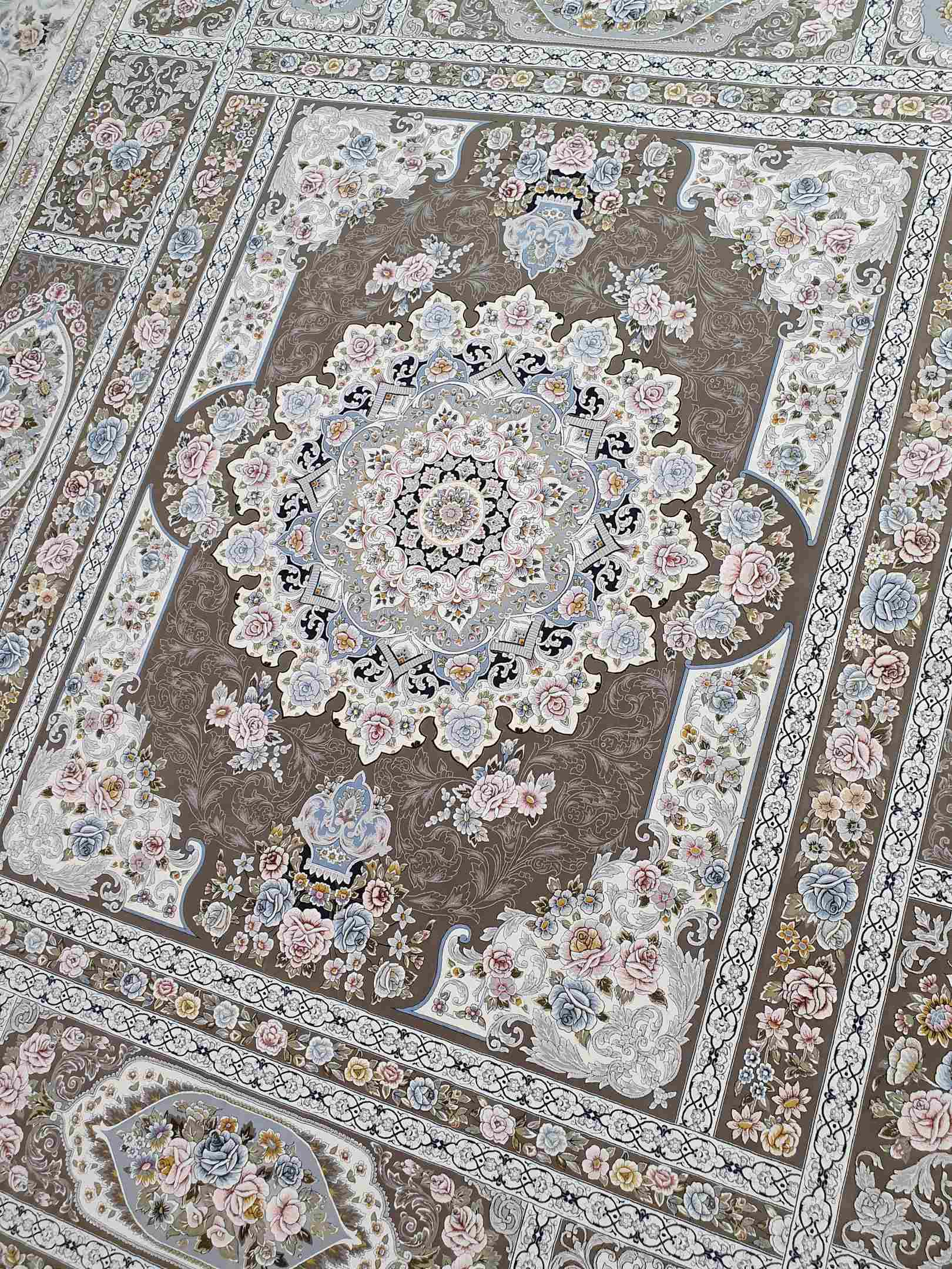 نقشه خشتی گلبرجسته