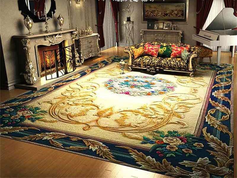 تفاوت میان فرش ۱۵۰۰ شانه و ۱۲۰۰ شانه