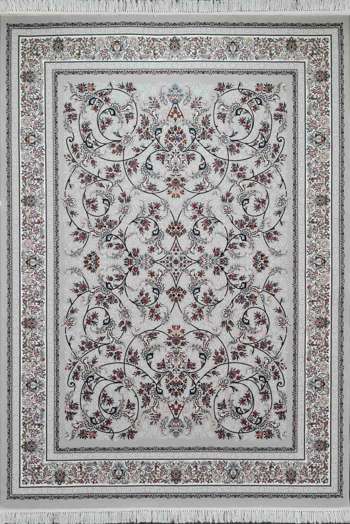 فرش طرح افشان دربار 700 شانه