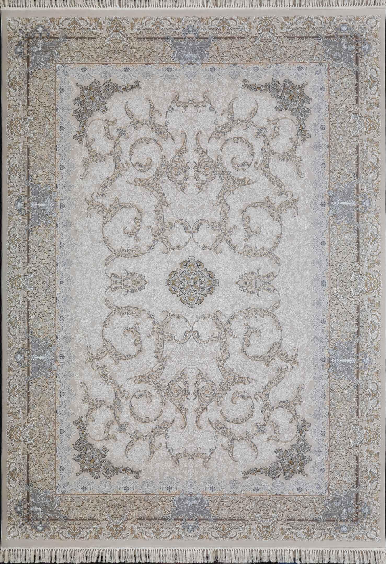 فرش افشان 1000 شانه گلبرجسته نقشه اسلیمی